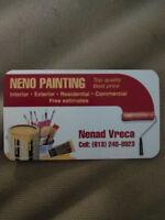 NENO QUALITY PAINTING 613-240-8923