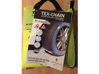 Joblot x10 Tex chain ice and snow wheel covers