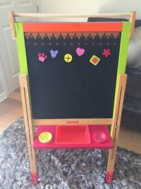 JANOD French children's toys wooden easel