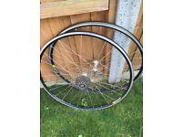 "Mavic bicycle wheels 26"" 9 speed"