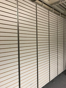 "Slot Wall Display 22' Long x 9' 2 1/2"" High"