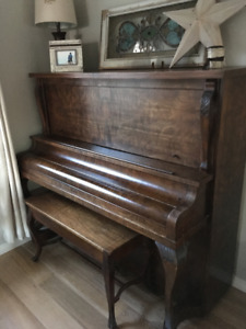 Upright piano in great shape to give away