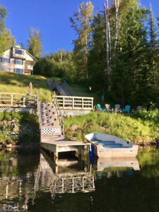 LAST MINUTE Birch Haven - A luxury cottage on Horsefly Lake