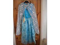 Frozen Dress Bundle - Dress, Build a Bear, Book, Puzzle
