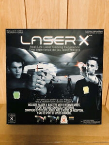 Brand New !!!!  LASER X REAL LIFE LASER GAMING EXPERIENCE
