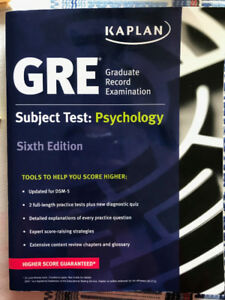 GRE Subject Test: Psychology 6th Ed. by Kaplan