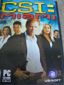 CSI : Miami PC game - XP