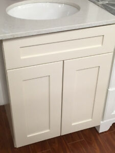 "24"" vanity maple solid wood cabinets on SALE!!"