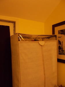 Clothes Holder - mobile closet for jackets, suits, dresses
