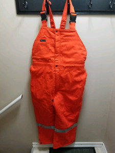 brand new winter lined bibbed coveralls