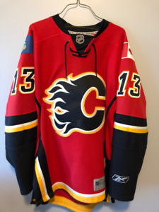 new arrival 4b006 ea512 Flames Jersey Signed | Kijiji in Calgary. - Buy, Sell & Save ...