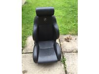 Corbeau GTB bucket seat and mini subframe