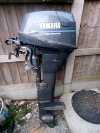 Yamaha 9.9 hp outboard engine rib dinghy sib boat spares or repair
