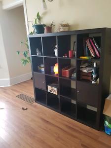 Ikea Kallax with cupboards 4x4