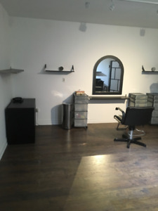 Salon space for rent