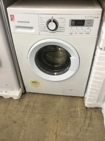 Daewoo A+ 1200 spin, Large 7kg drum,