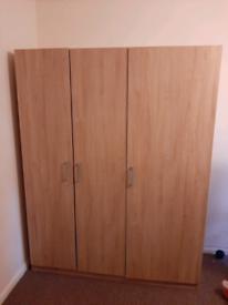 3 door wardrobe from IKEA