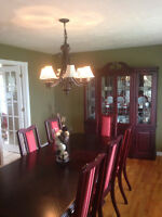 Cherry Wood Dining Set
