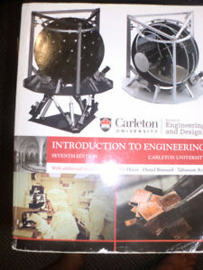 Textbook - Carleton University Introduction to Engineering , 7th
