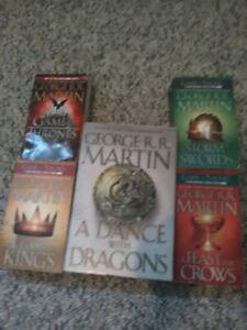 Game of Thrones books