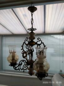 Ornate Italian Centre Light Fitting