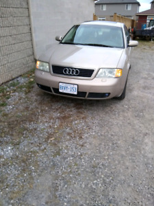 AUDI A6 QUATTRO,$1000  SAFETYED .ETESTED