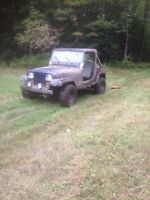 JEEP YJ parts  and s10 parts