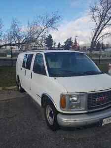 2001 GMC Sierra 2500 Minivan, Van