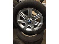 x4 BMW Alloys + Tyres