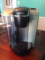 Keurig with organizer and K-cups!