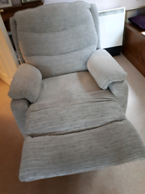 Chair Manual recliner in good condition