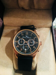 Rose Gold Lucien Picard Watch