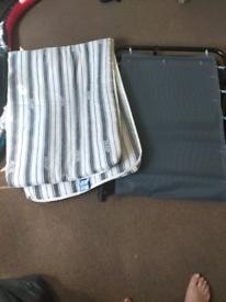 Single camper bed