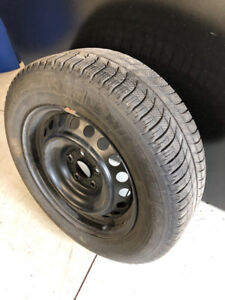 Snow Tires with Rims - Used