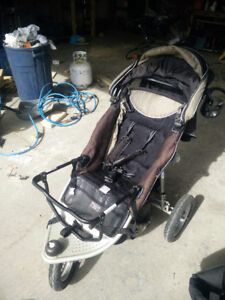 Valco Up and Down Double Stroller with Car Seat Adapters
