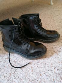 Dr Martens school boots