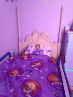 5 piece Barbie princess bed set
