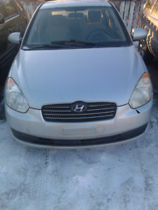 2008 Hyundai Accent 5 Speed 4 Cyl.  Base Model Very Reliable