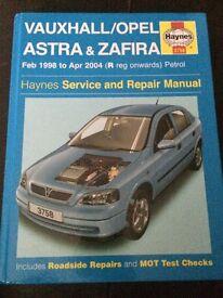 Vauxhall Astra/Zafira Haynes Manual