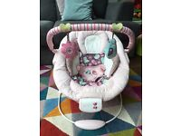 Bright Starts Comfort and Harmony baby bouncer chair