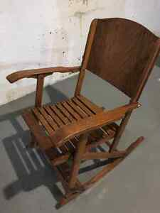 Small wood rocking chair Windsor Region Ontario image 2