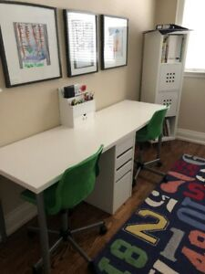 2 - Ikea Snille Swivel Chairs