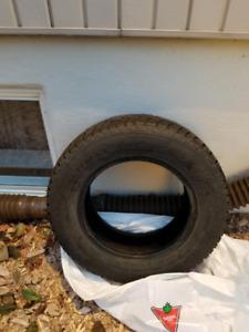 4 pneus d'hiver 185 70 14