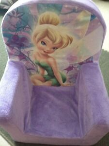 Kid's Tinkerbell Foam Chair Cambridge Kitchener Area image 1