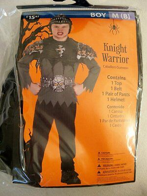 NEW  Boys Size 8  Knight Warrior Complete Costume  Dress  Up Play  - Dress Up Walmart