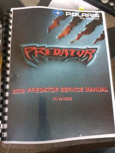 Service manual Predator 500-2003 and up