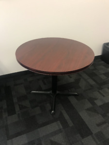 Gently Used Round Office Table
