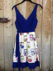 Eva Franco Russian doll dress