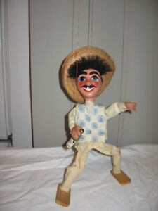 Collectable Mexican Marrionette Doll