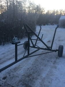 Single Bale Trailer, Mover Bale Dolly